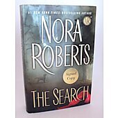 The Search BOOK - Signed by author Nora Roberts