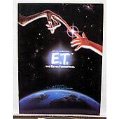 E.T. the Extraterrestrial 1982 original movie program