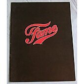 Fame 1980 original movie program