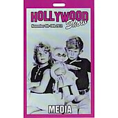 Limited Edition Hollywood Show Media Pass Family Affair