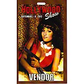 Limited Edition Hollywood Show Vendor Pass Pam Grier