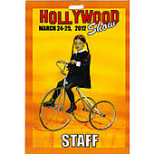 Limited Edition Hollywood Show Staff Pass Wednesday Addams Family
