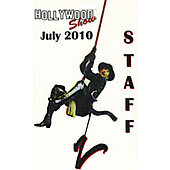 Limited Edition Hollywood Show Staff Pass Zorro