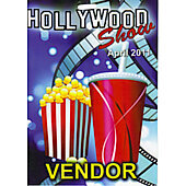 Limited Edition Hollywood Show Vendor Pass