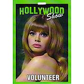 Limited Edition Hollywood Show Volunteer Pass Britt Ekland