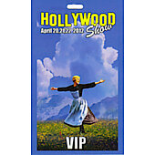 Limited Edition Hollywood Show VIP Pass Sound of Music
