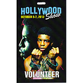 Limited Edition Hollywood Show Volunteer Pass Levar Burton Roots