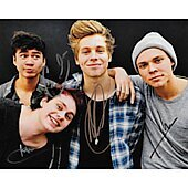 5 seconds of summer Autographed 8x10 Boy Band