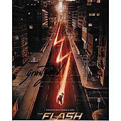 Grant Gustin Autographed 8x10 Barry Allen / the Flash