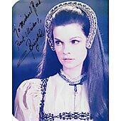 Genevieve Bujold (Signature personalized to Michael Reed)