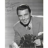 George Brent Vintage 8X10 photo (personalized to Fern Rassmussen)