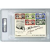 Grace Kelly (Grace de Monaco) & Prince Rainier First Day Cover 1956 signed PSA