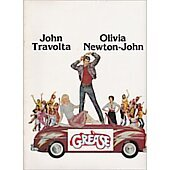 Grease 1978 original movie program