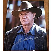 Gene Hackman Unforgiven 11x14 Signed Photo
