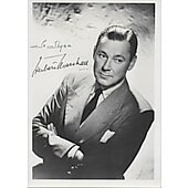 Herbert Marshall Vintage photo personalized to Thyra (approx. 3X5)