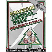 Hollywood Christmas Parade 1981 Celebrity Program