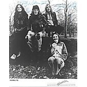Humble Pie 8X10 photo signed by 4
