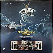 Noah Hathaway The NeverEnding Story signed laserdisc
