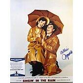 Debbie Reynolds (1932-2016) Singin in the Rain 11X14 w/Beckett COA