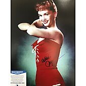 Debbie Reynolds (1932-2016) 11X14 w/Beckett COA