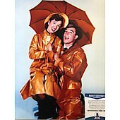 Debbie Reynolds (1932-2016) Singin in the Rain 11X14 w/Beckett COA 2