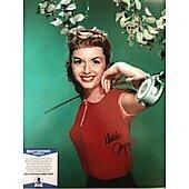 Debbie Reynolds (1932-2016) 11X14 w/Beckett COA 3