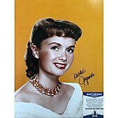 Debbie Reynolds (1932-2016) 11X14 w/Beckett COA 5