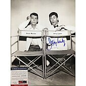 Jerry Lewis (1926-2017) 11X14 with PSA/DNA COA
