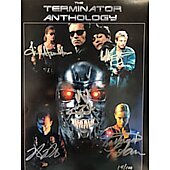 Terminator Anthology cast of 5 Limited Edition 11X14 **ONLY ONE**