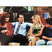 Married With Children cast of 4 11X14