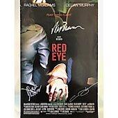 Rachel McAdams Wes Craven Cillian Murphy Red Eye 11X17