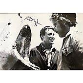 Richard Dreyfuss Jaws 10X15 w/ Ed Richard COA