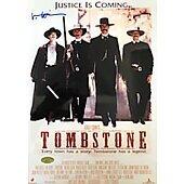 Val Kilmer Tombstone 11X14  w/ Ed Richard COA