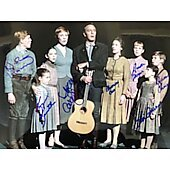 Sound Of Music exclusive 11x14 cast photo signed by 7 #3
