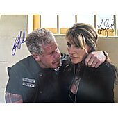 Ron Perlman Katy Segal Sons of Anarchy 11X14