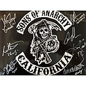 Sons of Anarchy Cast of 7 11X14