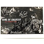 Sons of Anarchy Cast of 7 11X14 2