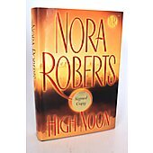 High Noon BOOK - Signed by author Nora Roberts
