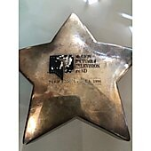 Motion Picture & Television Fund Promo paperweight 1996