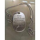 MASH 30th Anniversary screening promo dog tag/chain