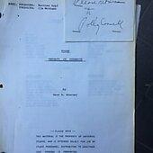 """Kojak """"therapy In Dynamite"""" Original Script"""