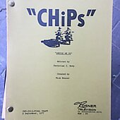 "Chips ""Aweigh we Go "" Original Script"