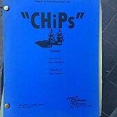 "Chips ""Undertow"" original Script"