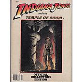 Indiana Jones and the Temple of Doom 1984 original movie program