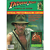 Indiana Jones official poster magazine