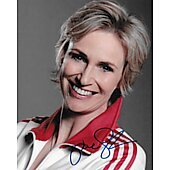 Jane Lynch Autographed 8x10 Glee