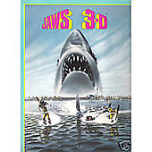 Jaws 3D 1983 original movie program