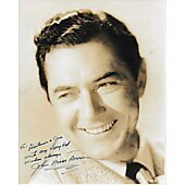 John Mack Brown Vintage 8X10 photo (personalized to Hortense and Jack)
