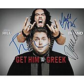 Russell Brand,Judd Apatow,jonah Hill  8x10 Get Him To The Greek
