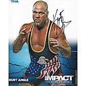 Kurt Angle In Person Autographed 8x10 WWE,TNA